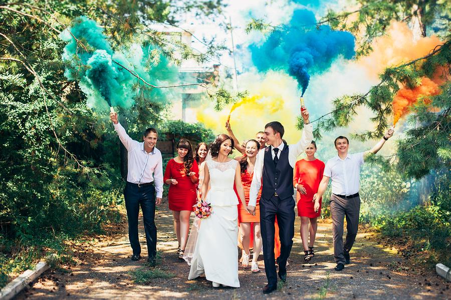 Hochzeitsfeier auf Traumhochzeit.online